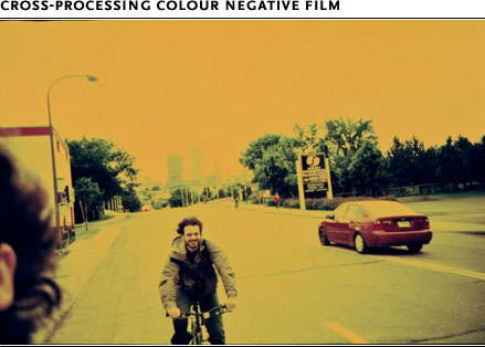 Cross-Processing Colour negative film
