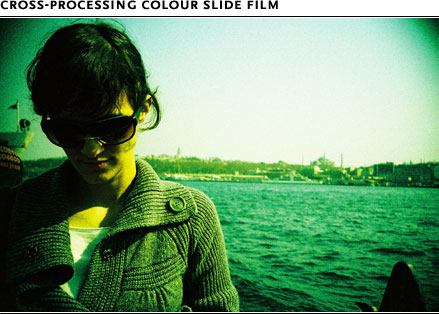 Cross-Processing Colour slide film
